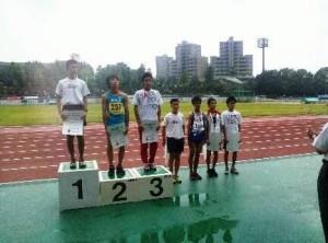 男子3000m表彰