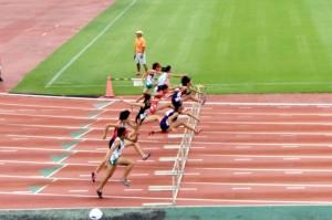 東京ジュニアA100mH決勝