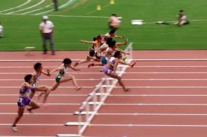 東京国体B女子100mH