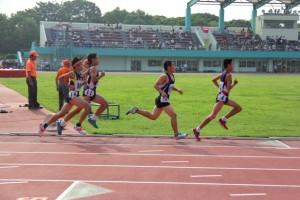 渋谷区ジュニア中学1年1500m決勝