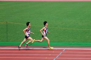渋谷区ジュニア男子1500m予選