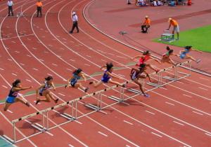 中学3年女子100mHマリア